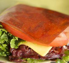 BLTC (3 carbs!) with Gem Wraps Tomato wrap