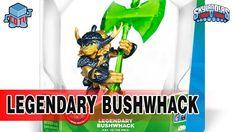Skylanders LEGENDARY Bushwhack Gameplay #skylanders #collecting #toys