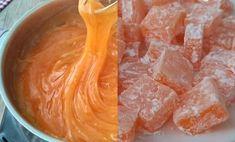 mandalina-lokumu-tarifi Classic Cake, Dessert, Ham, Peanut Butter, Caramel, Good Food, Food And Drink, Menu, Cooking