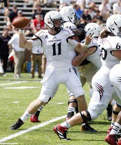 Cincinnati Bearcats whiteout football uniforms