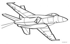 Free Coloring Pages Airplane #coloring #coloringpages Free Coloring Sheets, Cartoon Coloring Pages, Coloring Pages To Print, Free Printable Coloring Pages, Coloring Pages For Kids, Free Printables, Coloring Books, Adult Coloring, Airplane Coloring Pages