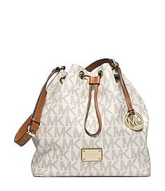 Michael Kors Signature Jules Large Drawstring Shoulder Bag Dillards This Was The Only One