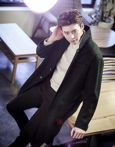 This world has you so bright .. I love you the most ❤ Lee jong suk.
