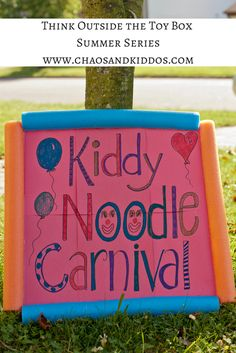 Think Outside the Toy Box Summer Series: Kiddy Noodle Carnival