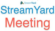 How to Start a Streamyard Meeting Communication Is Key, Effective Communication, Ways Of Learning, Blended Learning, Certificate Of Completion, Google Classroom, Learning Environments, Online Courses, Social Networks