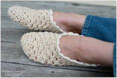 Simple Living Slippers Crochet Pattern