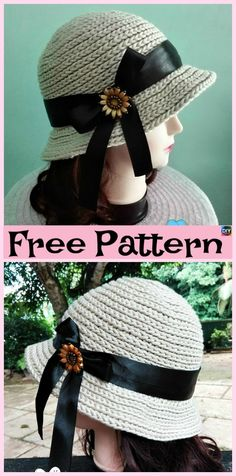 15 Amazing Crocheted Sun Hat Free Patterns 15 Amazing Crocheted Sun Hat Free PatternsSummer is coming, and with all the fun, their is also some really unbearable weather. Crochet Shark, Sombrero A Crochet, Crochet Adult Hat, Crochet Summer Hats, Crochet Beanie Hat, Crochet Baby Hats, Cute Crochet, Knitted Hats, Knit Crochet
