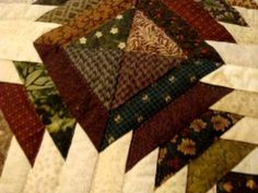 Pineapple Quilt Amish Handquilted Product 41005