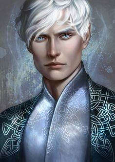 """morgana0anagrom:  """"finally finished ^^  Kallias from A Court of Thorns and Roses series  """"  HOLY SHIT. I LOVE IT SO MUCH"""