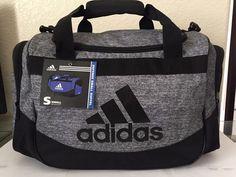 e38006ae62 ADIDAS Defense Small Duffel Sport Gym bag luggage Onix Jersey Black Unisex  Adidas  Workout