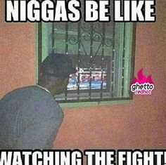 Niggas be like watching the fight Funny Quotes, Funny Memes, Hilarious, Jokes, Ghetto Red Hot, Adult Comedy, My Stomach Hurts, Background Wallpaper For Photoshop, Chistes