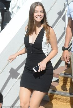 Gorgeous: Barbara Palvin proved why she had caught so much attention in the fashion indust...