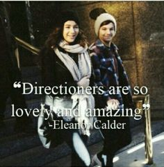 @Eleanor Smith Calder honestly no one will ever be as lovley as you and @Danielle Lampert Peazer! :)