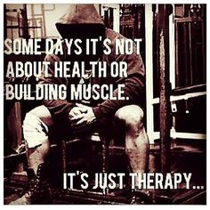 Gym therapy #gymtimegtd