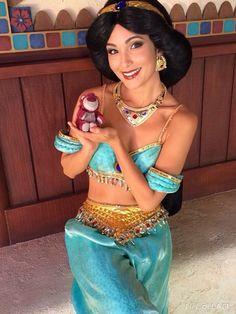 Jasmine with lotso!