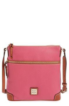 Dooney & Bourke Pebble Leather Crossbody Bag