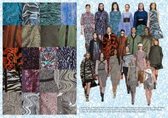 Textile candy: A/W 14 Catwalk print trend analysis: Abstract and Linear