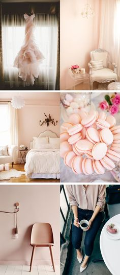 Considering an interior facelift? Before you select your wall color, draw inspiration from some of your favorite things. We love @mystylevita's blush color inspiration for her home.