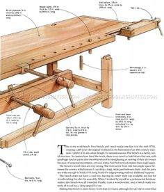 Heavy Duty Workbench Plans - Workshop Solutions Projects, Tips and Tricks - Woodwork, Woodworking, Woodworking Plans, Woodworking Projects Router Projects, Home Projects, Woodworking Projects, Workbench Plans, Woodworking Bench, Diy Tools, Carpentry, Wood Crafts, Life Hacks
