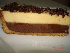 Torta Mousse de Limão com Chocolate - Receitas e Dicas Rápidas