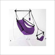 Pin it! :) Follow us :))  zPatioFurniture.com is your Patio Furniture Gallery ;) CLICK IMAGE TWICE for Pricing and Info :) SEE A LARGER SELECTION of  patio hammocks at http://zpatiofurniture.com/category/patio-furniture-categories/hammocks/ - home, patio, home decor, hammocks  - Captain's Line Aluminum Air Chair – Purple « zPatioFurniture.com
