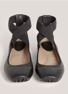 Chloé - Strap leather ballerina flats