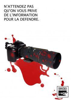 reporters sans frontières affiches - Recherche Google Reporters Sans Frontières, Telescope, Google