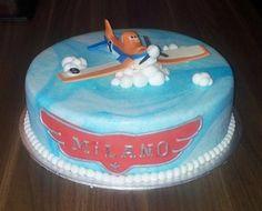 Birthdaycake Planes, Boy, Dusty Verjaardagstaart jongen