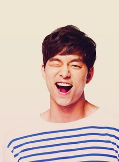 Gong Yoo wink. Honestly, that man...