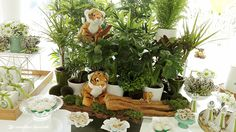 Lima Limão - festas com charme: Muitos tigres para o batizado do Vicente!