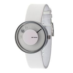 Vue Yves Watch Leather White now featured on Fab.