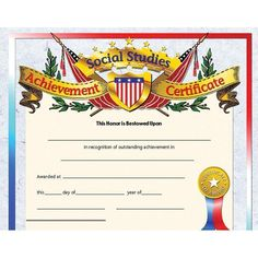 HAYES SCHOOL PUBLISHING H-VA637 CERTIFICATES OF RECOGNITION-36//PK 8-1//2 X 11 INKJET//LASER