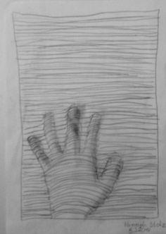 Die Kraft der Linie 2. - Bleistift - Hannah