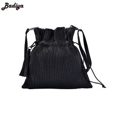 f1bee746a0d New 2017 Bolsa Feminina Casual Women Handbags String Tote Bags Shoulder  Tassel Luxury Handbags Women Bags Designer Bucket Bags