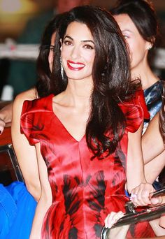 Happy Birthday, Amal Clooney! Her Best Beauty Moments, Ever via @byrdiebeauty