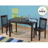 Found it at Wayfair - They have great prices and excellent custmer service!! Avalon Table and Chair Set Espresso.  BDAY GIFT for kiddos 2012