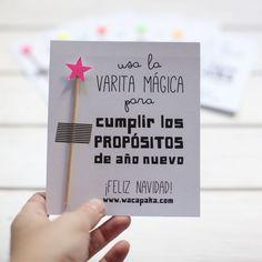 Usa la varita magica para cumplir los propositos de año nuevo. #feliznavidad #felizaño FacebookTwitterGoogle+PinterestWhatsApp