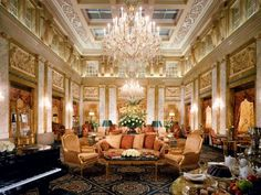 Hotel Imperial in Vienna, Austria (I have stayed here)