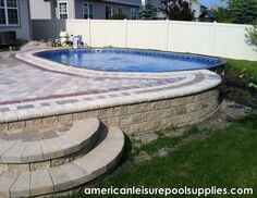 American Leisure Pool Supplies - The Ultimate Above Ground Swimming Pool - Above or Inground application