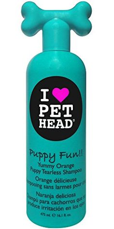 Pet Head Puppy Fun!! Tearless Shampoo 16.1oz *** Continue to the product at the image link.