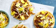 Best Pulled Pork Tacos with Pineapple Slaw Recipe - How to Make Pulled Pork Tacos with Pineapple Slaw