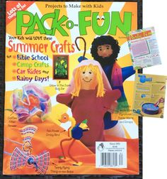 Summer Crafts, Fun Crafts, Crafts For Kids, School Car, Camping Crafts, Girl Guides, Scouts, Childrens Books, Sewing Patterns