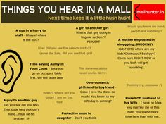 What have you heard? Do share the wacky ones! www.mallhunter.in