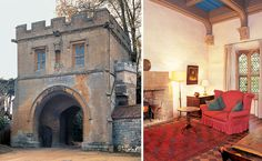 Landmark Trust - you can rent amazing historic properties in the UK, from castles to gatehouses, towers to abbeys. Wonderful!