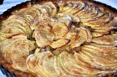 Crostata di mele con zenzero e cannella
