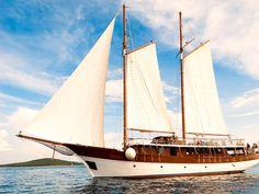 M/Y Romanca - Croatian Adventure Cruise #croatia #sailing #yacht #vacation