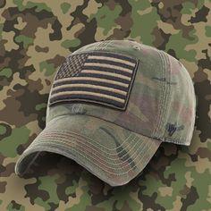469a3be68 Operation Hat Trick OHT Woodland Camouflage Adjustable Baseball Cap