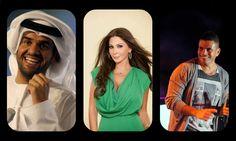آخر الأخبار حسب المطرب أليسا، عمرو دياب وحسين الجسمي معاً في إفتتاح الفورمولا 1 في أبو ظبي