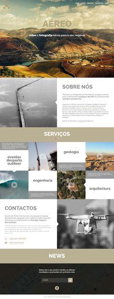 Novo Projecto! www.aereo.pt Projecto › Identidade corporativa & Website responsivo Cliente › A Pequena Tulipa  Data › Janeiro, 2015
