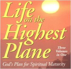 Life on the Highest Plane: God's Plan for Spiritual Maturity: This classic reprint has blessed several generations with its blend of biblical teaching and personal application. Gods Plan, Maturity, Book Lists, Ebooks, Plane, Spirituality, Teaching, How To Plan, Amazon